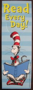 Seuss bookmark